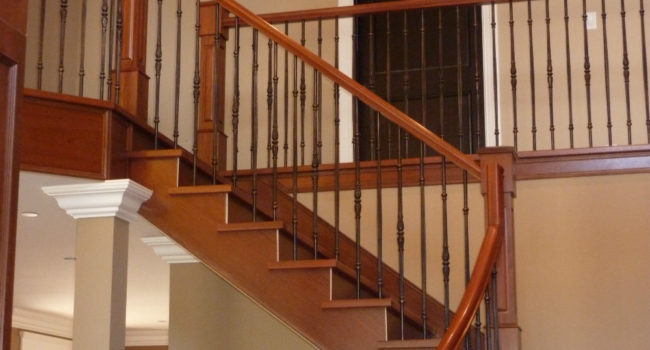 Stair and Railings