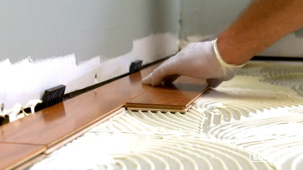 A Professional Installer Will Use The Type Of Adhesive That Is Specifically Recommended For Your Hardwood Flooring